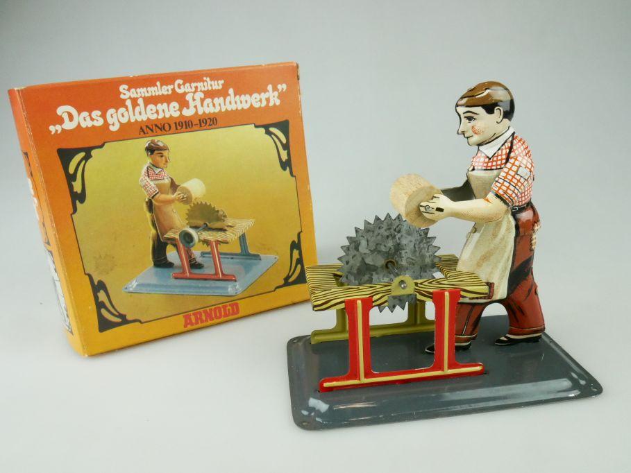 Arnold Blech Spielzeug Das goldene Handwerk Anno 1910-1920 tinplate toy 109362