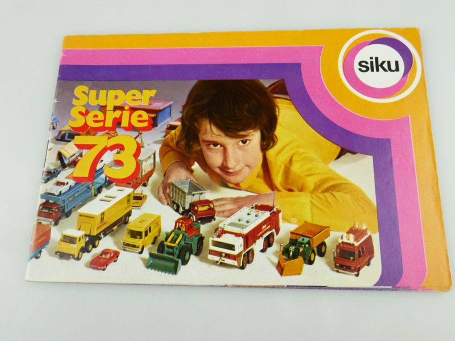 Siku ´73 Katalog Programm Heft brochure catalog catalogue 1973 109343