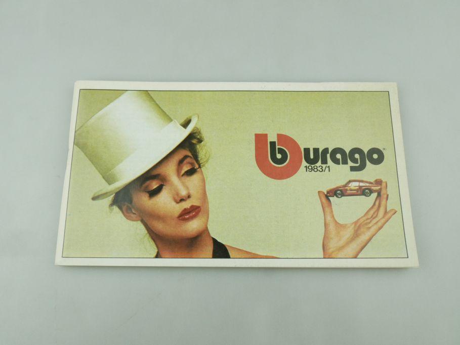 Bburago 1983/1 Katalog Programm Heft Burago brochure catalog catalogue 109345