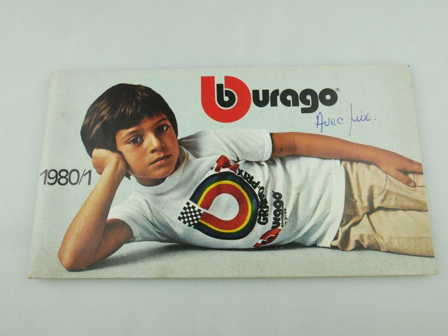 Bburago 1980/1 Katalog Heft 64 S. Burago brochure catalog 109348