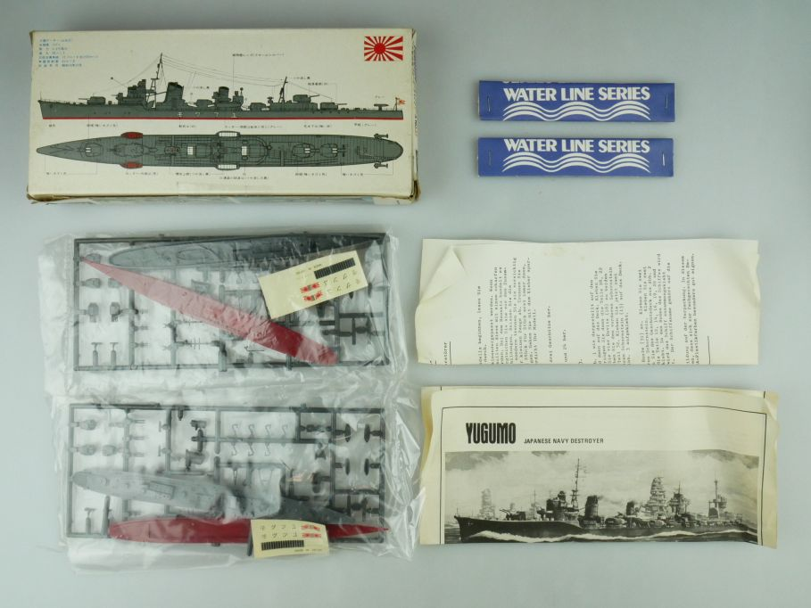 Hasegawa 1/700 Water Line Konvolut 2x Yugumo/ Minegumo Japan Navy OVP kit 109400