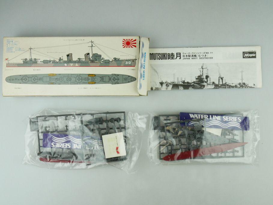 Hasegawa 1/700 Water Line Konvolut 2x Mutsuki/ Arashio Japan Navy OVP kit 109402