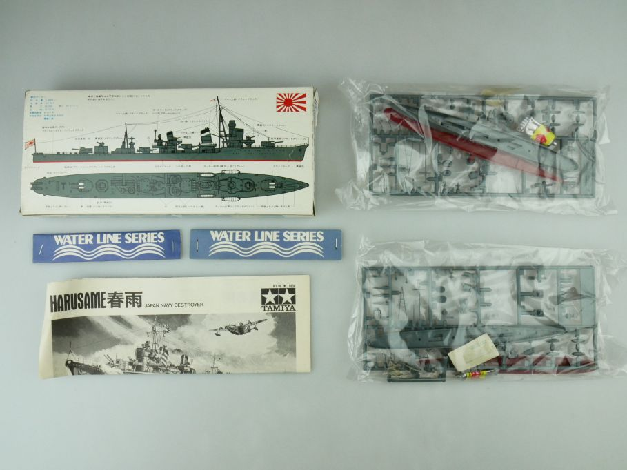 Tamiya 1/700 Water Line Konvolut 2x Harusame/Shiratuyu Japan Navy OVP kit 109404
