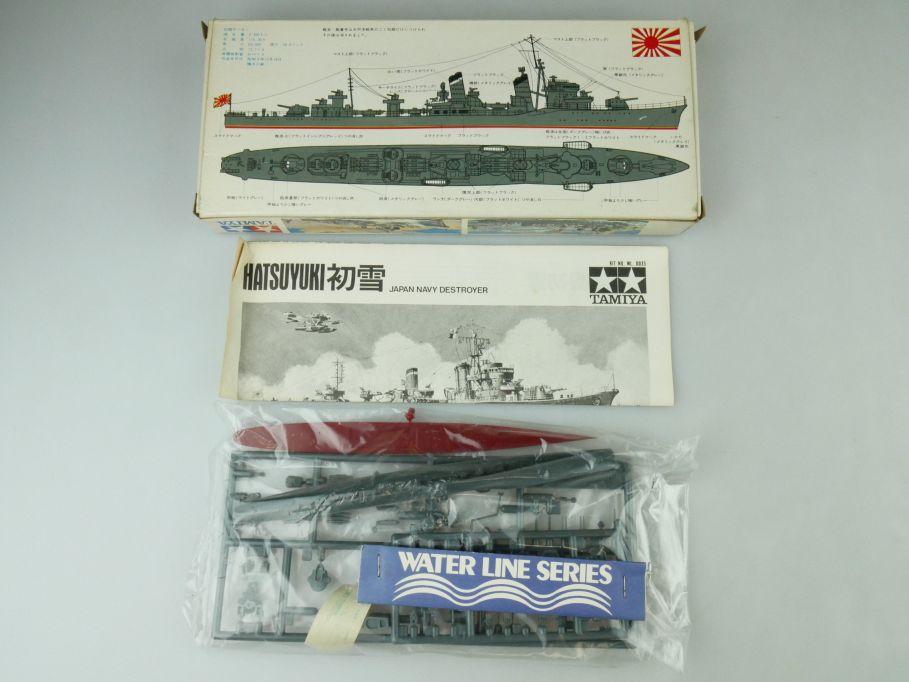 Tamiya 1/700 Water Line Konvolut 2x Hatsuyuki / Shikinami Japan OVP kit 109405