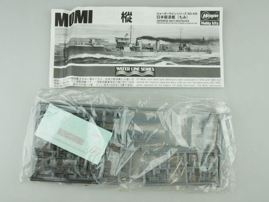 Tamiya 1/700 Water Line Konvolut 5x Ayanami / 1x Momi Japan Navy kit 109411