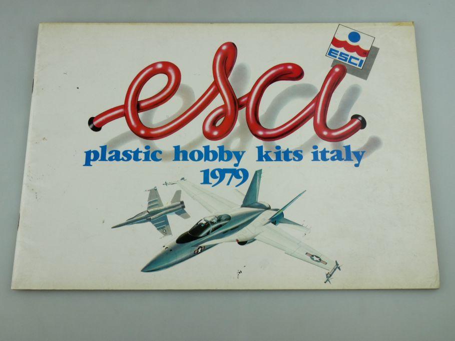 Esci 1979 Katalog catalog plastic hobby kits italy vintage kit catalogue 109385
