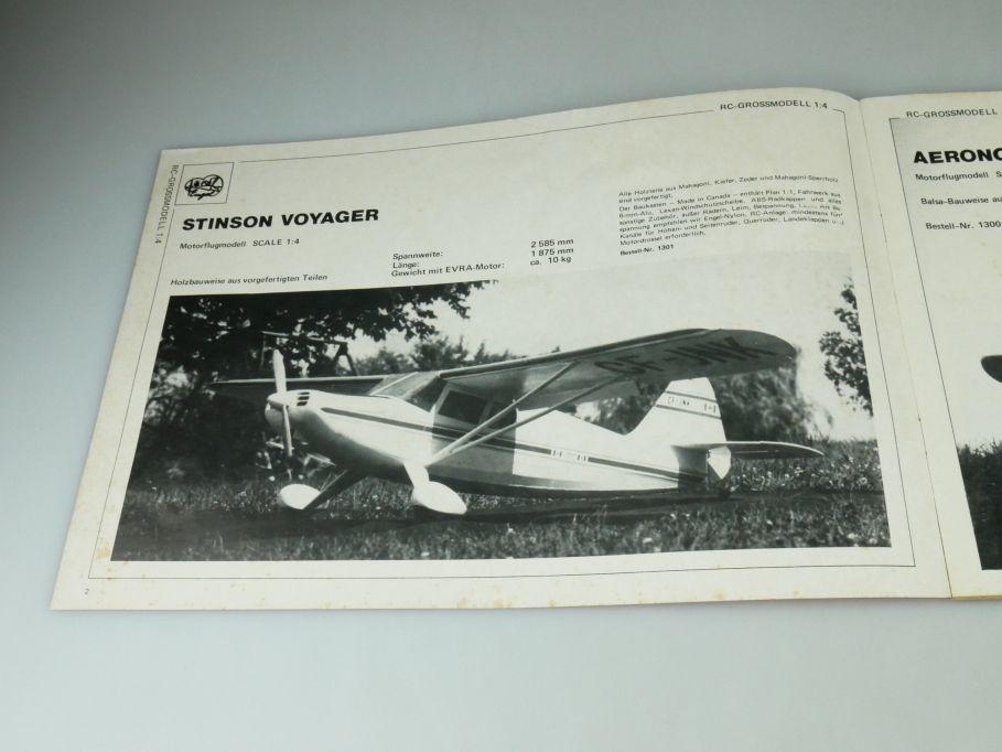 Engel Modellbau 1981 Katalog 30 Jahre 83S. Preisliste catalog 109391