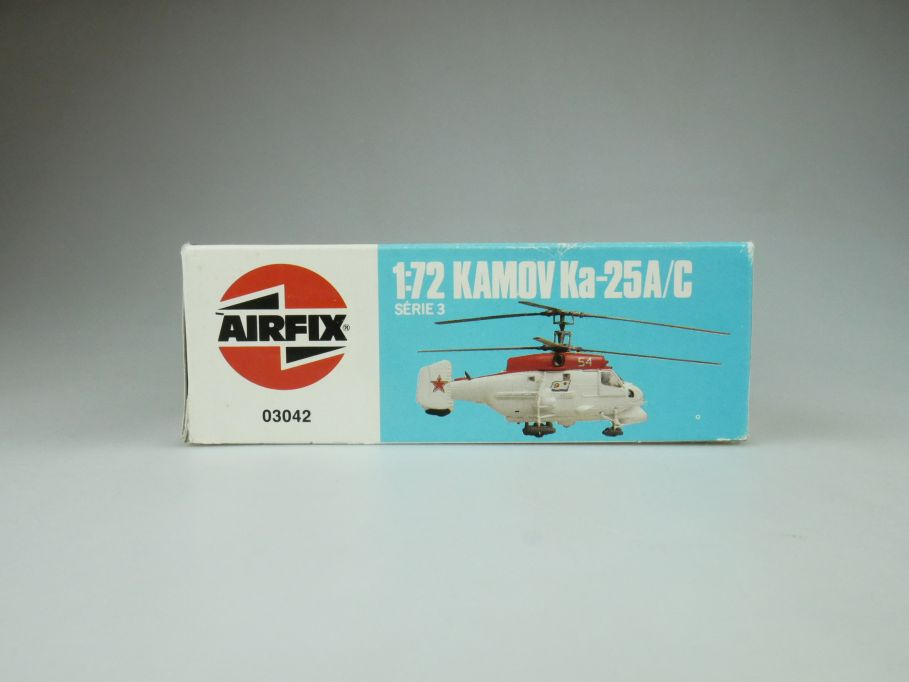 Airfix 1/72 Kamov Ka-25A/C No 03042 helicopter model kit OVP 109414