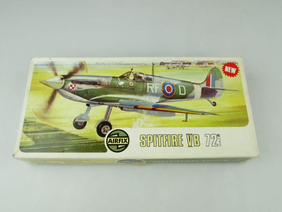 Airfix 1/72 Spitfire VB 02046-2 prop plane model kit OVP 109420