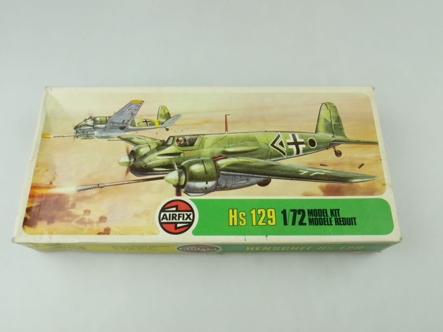 Airfix 1/72 Henschel Hs 129 prop plane model kit 02032-3 OVP 109423