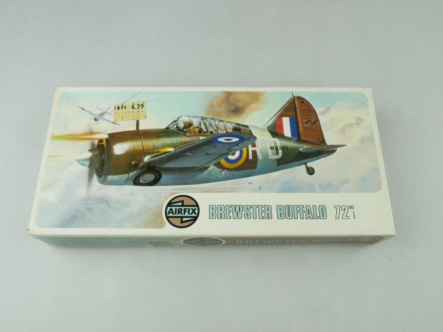 Airfix 1/72 Brewster Buffalo prop plane model kit 02050-1 OVP 109424