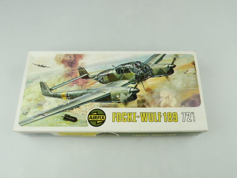 Airfix 1/72 Focke-Wulf 189 prop plane model kit 02037-8 OVP 109425