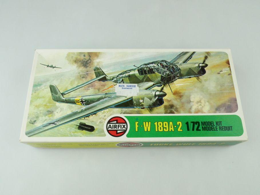 Airfix 1/72 Focke-Wulf 189A-2 prop plane model kit 02037-8 OVP 109426