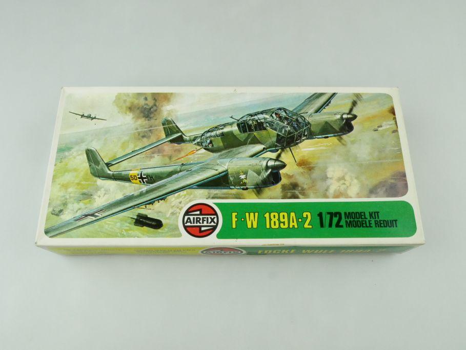 Airfix 1/72 Focke-Wulf 189A-2 prop plane model kit 02037-8 OVP 109427