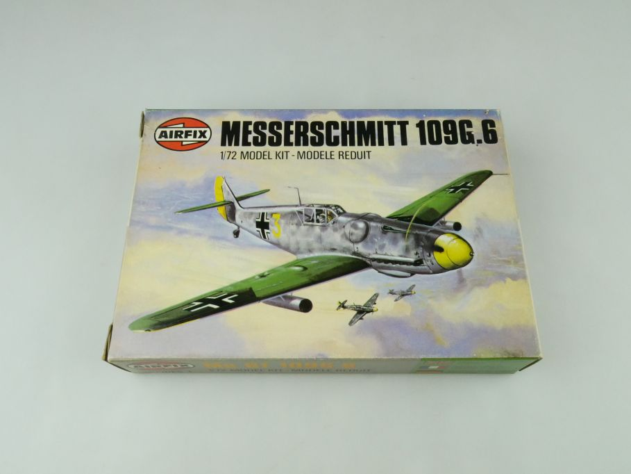 Airfix 1/72 Messerschmitt 109G.6 prop plane model kit 61006-3 OVP 109428