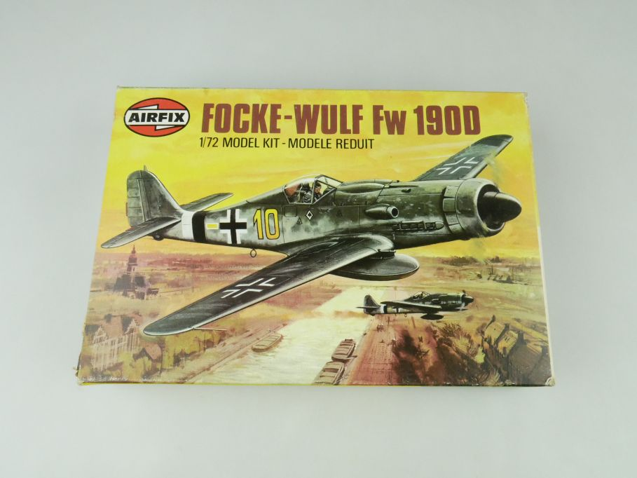Airfix 1/72 Messerschmitt 109G.6 prop plane model kit 61064-9 OVP 109429