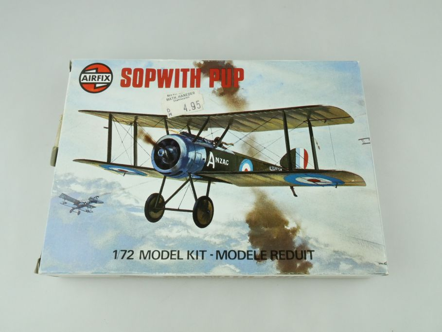 Airfix 1/72 Sopwith Pup prop plane model kit 61062-3 OVP 109431