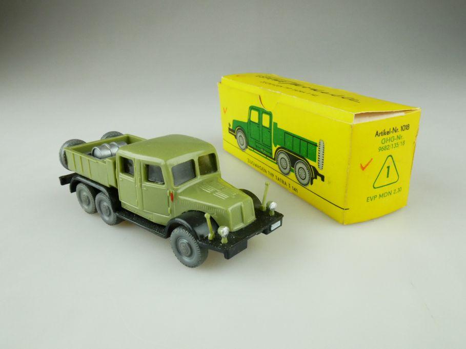 Espewe H0 1018 Zugwagen Typ Tatra T 141 DDR VEB Herr + Box 109442