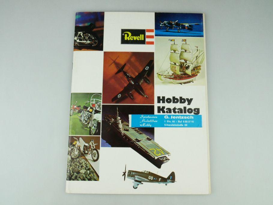 Revell Bausatz Hobby Katalog 1973 kit catalog Kits A4 87 S. selten 109568