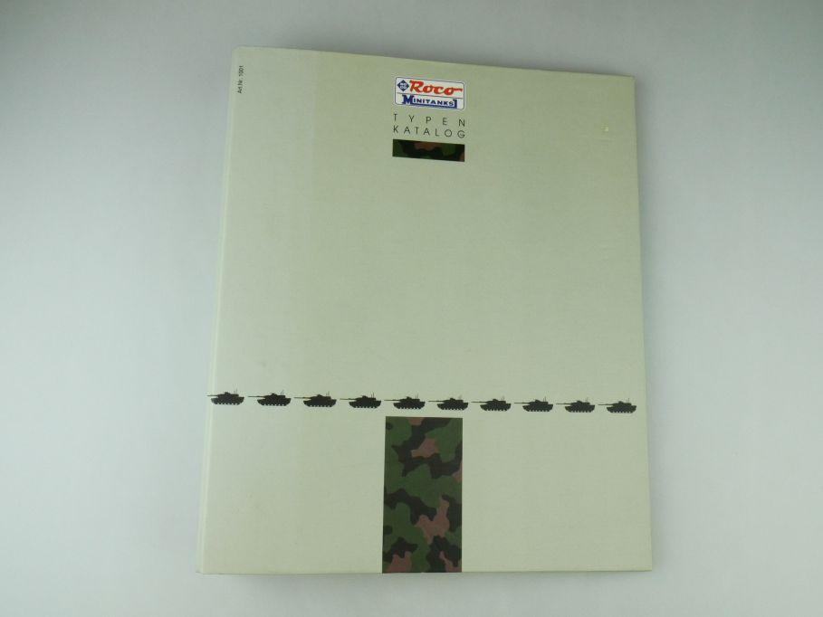 Roco Minitanks Ordner 1001 Typen Katalog Panzer Militär 1:87 Datenblätter 109575