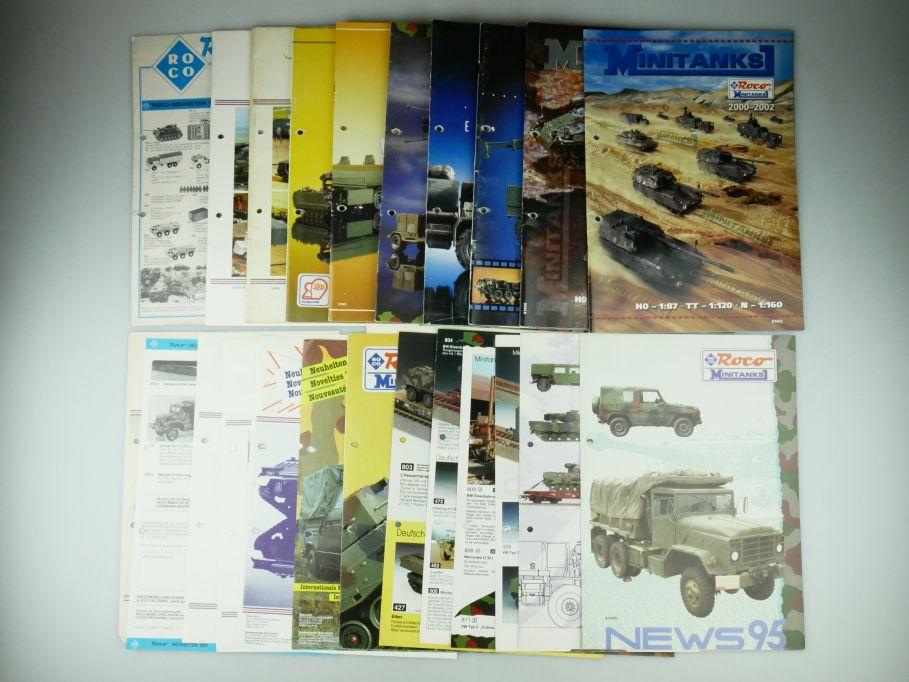 Roco Minitanks Katalog 1983 1985 1987 1990-2002 Neuheiten 1980-95 ohne 83 109576