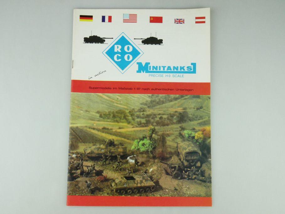 Roco Minitanks H0 1/87 Katalog 1977 catalog 109581