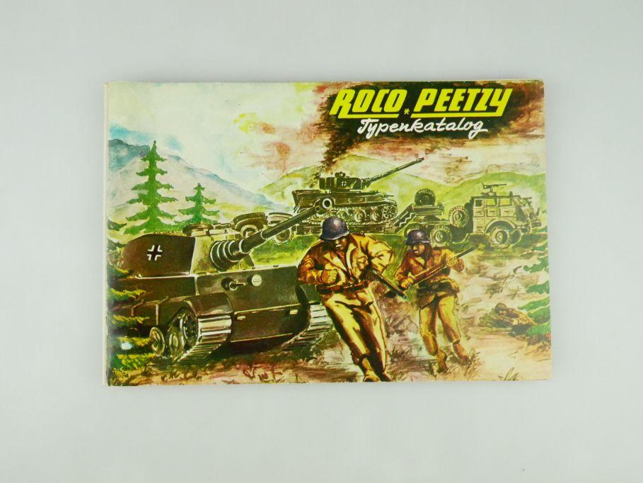 Peetzy Roco Typenkatalog Katalog Nr. 184 Minitanks 50 S.bis Minitanks 187 109592