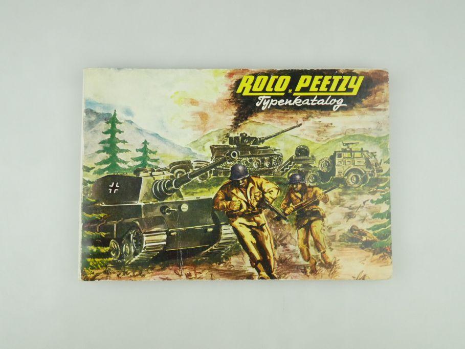 Peetzy Roco Typenkatalog Katalog Nr. 184 Minitanks 80 S.bis Minitanks 236 109593