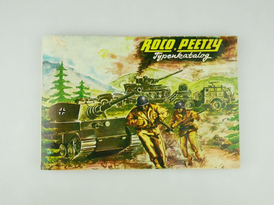 Peetzy Roco Typenkatalog Katalog Nr. 184 Minitanks 80 S.bis Minitanks 236 109594