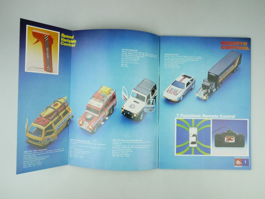Star Toys Katalog Catalogue 1983-84 33 S. vintage toy catalog 109595