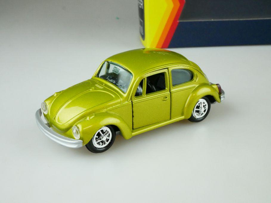 Gama 1:43 Volkswagen VW Käfer 1302 1970-72 grüngelbgold met. beetle Box 109452