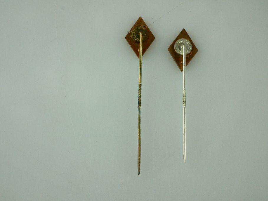 2x vintage Renault Anstecknadel hoffstätter bonn needle pin 109460
