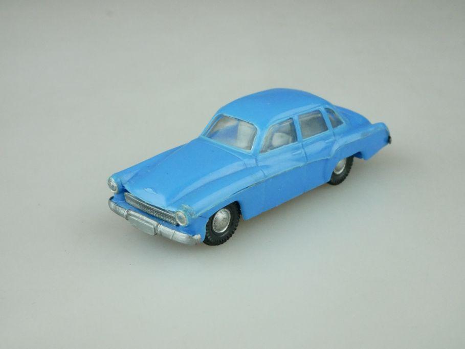 Haufe H0 Wartburg 311 Limousine blau DDR 109491