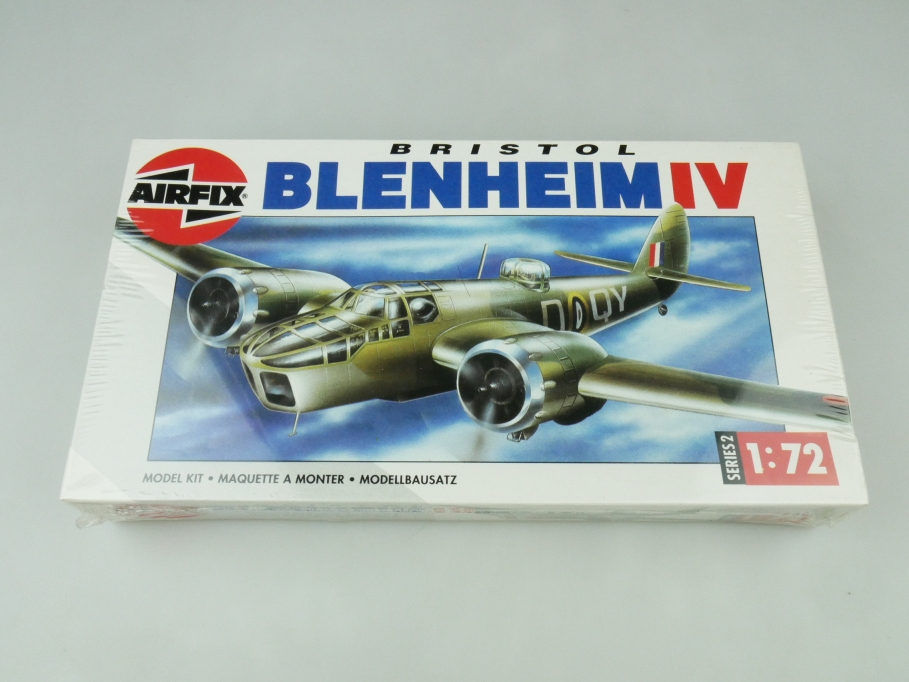 Airfix 1/72 Bristol Blenheim IV 02027 OVP plane kit 109483