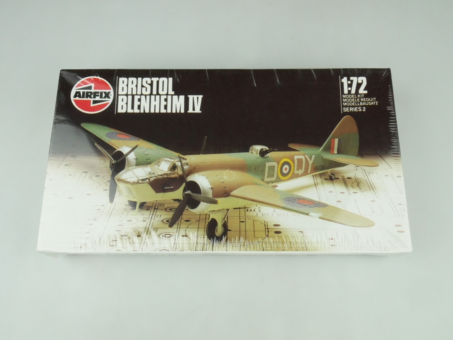 Airfix 1/72 Bristol Blenheim IV 02027 OVP plane kit 109501