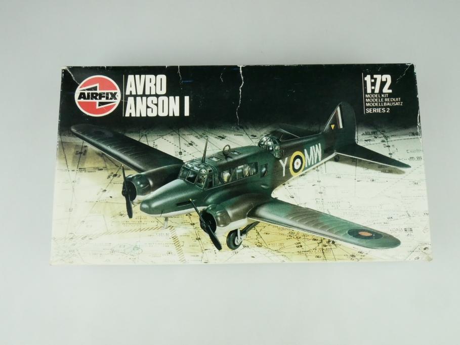 Airfix 1/72 Avro Anson I 02009 OVP prop plane kit 109503