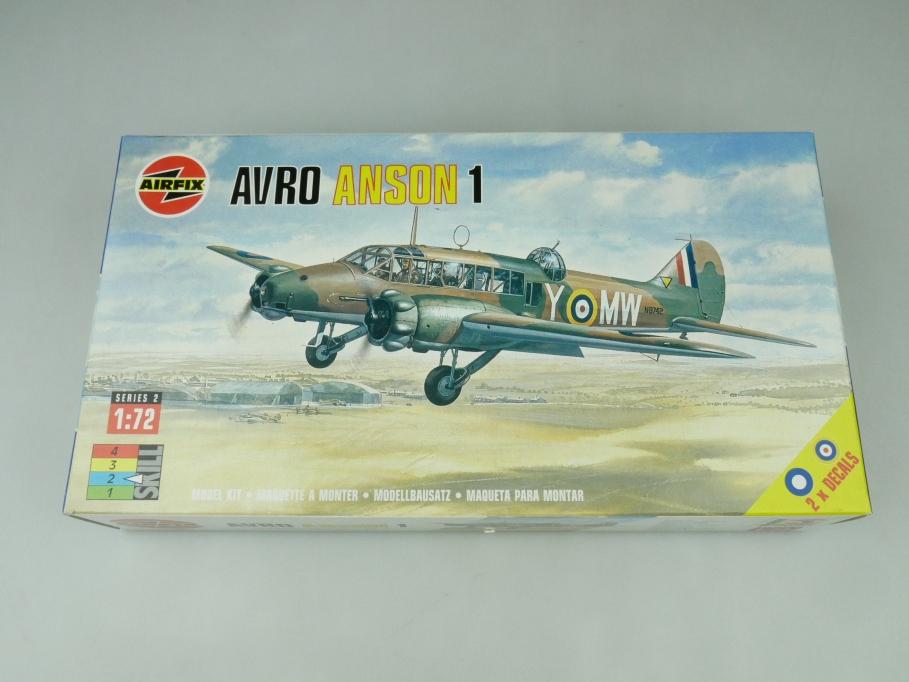 Airfix 1/72 Avro Anson 1 02009 OVP prop plane kit 109507