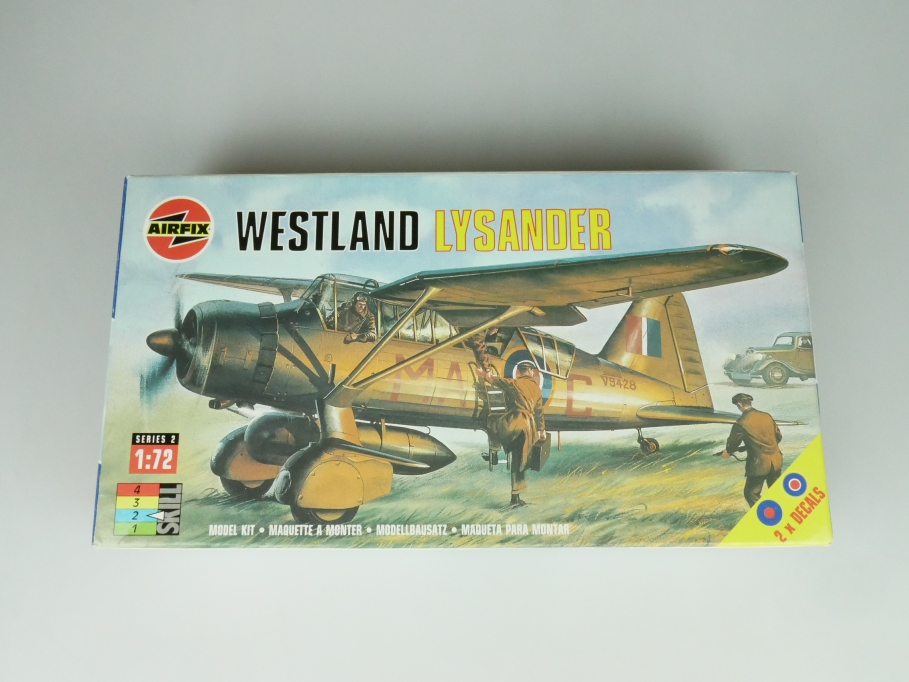 Airfix 1/72 Westland Lysander 02053 OVP prop plane kit 109508