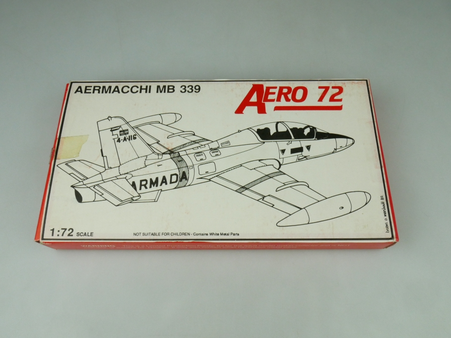 Aeroclub 72 1/72 Aermacchi MB 339 OVP vintage prop plane kit 109513