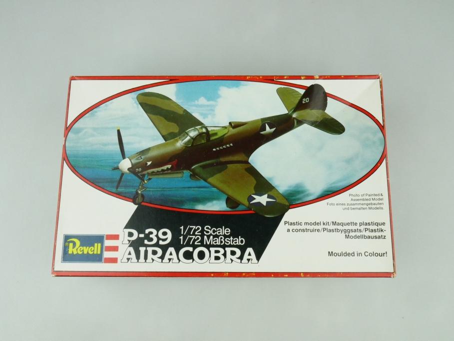 Revell 1/72 P-39 Airacobra H- 4105 OVP prop plane kit 109514