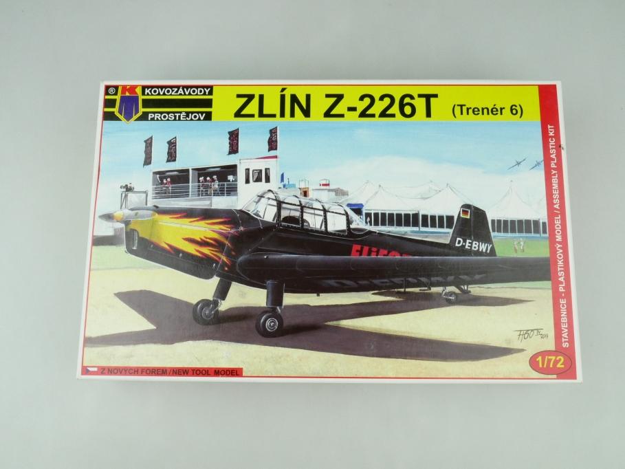 Kovozavody Postejov 1/72 Zlín Z-226T (Trenér 6) KMP 004 OVP plane kit 109521