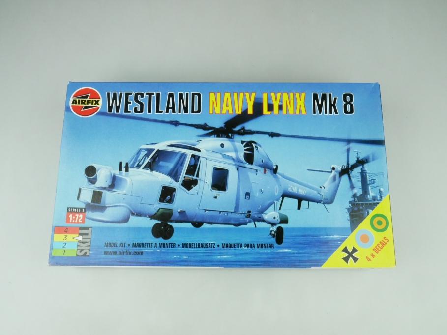 Airfix 1/72 Westland Navy Lynx Mk8 03063 OVP helicopter kit 109525