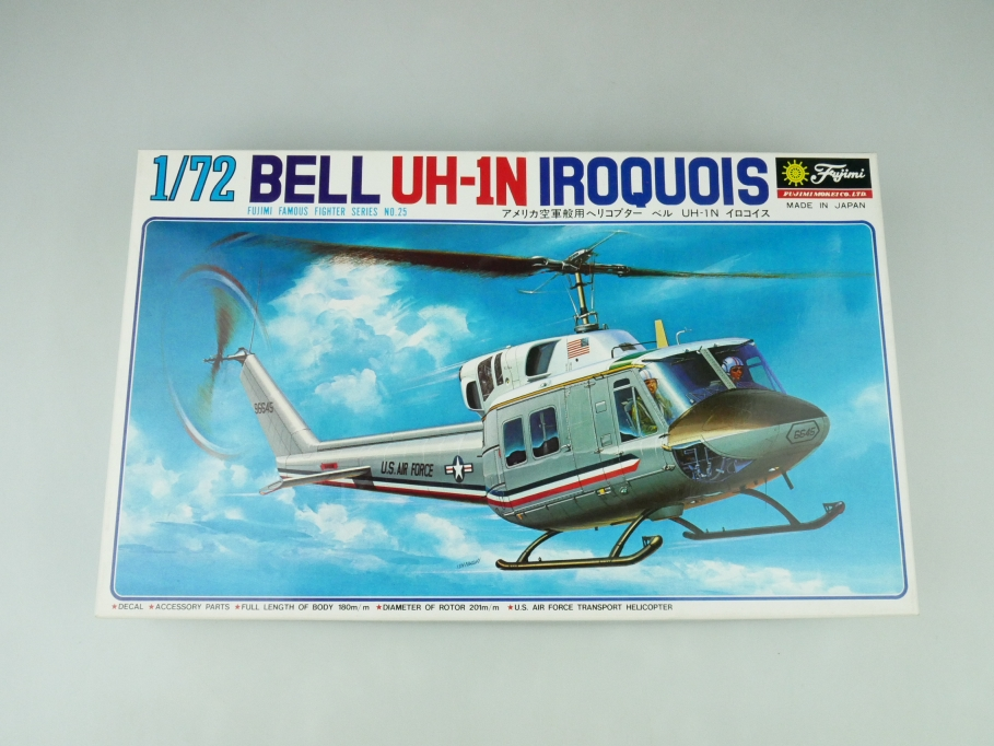 Fujimi 1/72 Bell UH-1N Iroquois No. 7A25-500 OVP helicopter model kit 109534