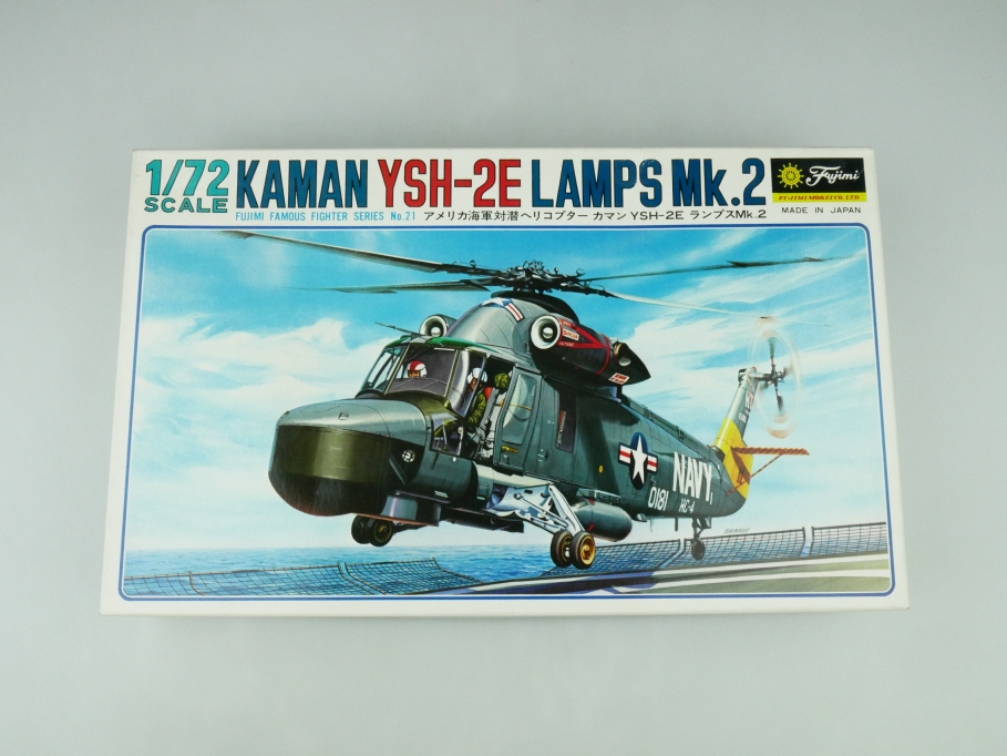 Fujimi 1/72 Kaman YSH-2E Lamps Mk.2 No. 7A21 OVP helicopter model kit 109536