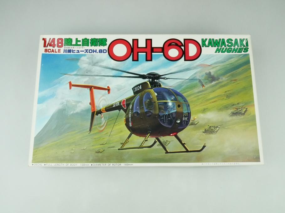 Fujimi 1/48 Kawasaki Hughes OH-6D No. 5A-50 OVP helicopter model kit 109537