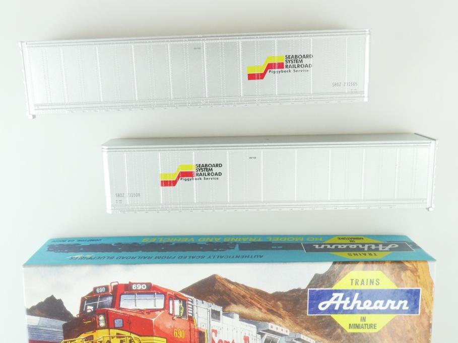 Athearn H0 05618 45 ft Trailer Seaboard Coast Line Kit Bausatz + Box PTa 109499
