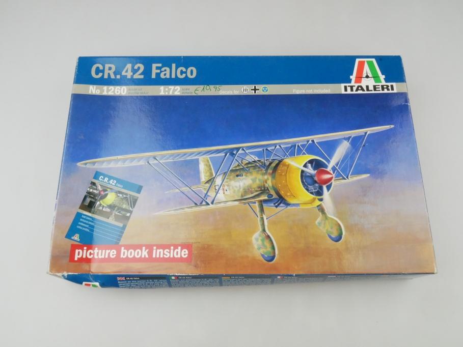 Italeri 1/72 CR. 42 Falco No 1260 OVP plane model kit 109544