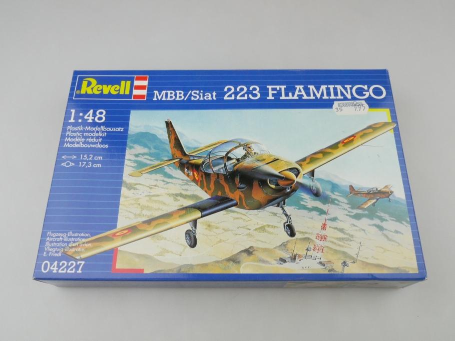 Revell 1/48 MBB / Siat 223 Flamingo No 04227 OVP prop plane model kit 109550