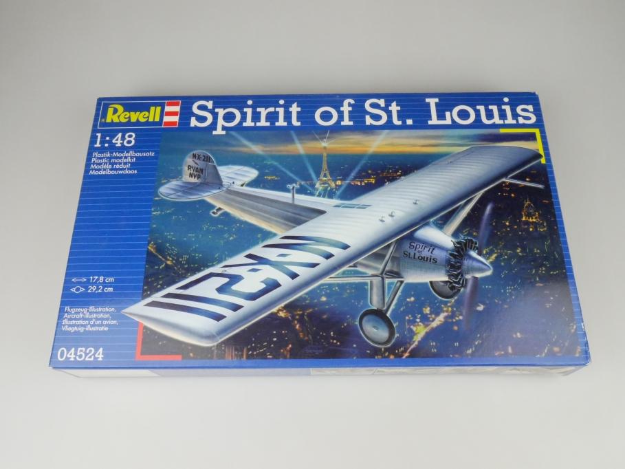 Revell 1/48 Spirit of St. Louis No. 04524 OVP plane model kit 109604