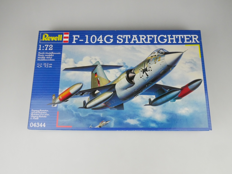 Revell 1/72 F-104G Starfighter No. 04344 OVP plane model kit 109611